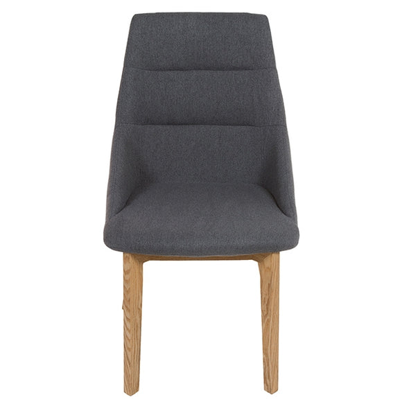 Chair Grey Polyester Filling (52 x 64 x 92 cm) by Craftenwood