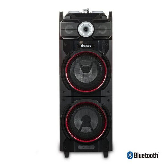 Bluetooth Speakers NGS WILDTECHNO 500W FM SD USB Black
