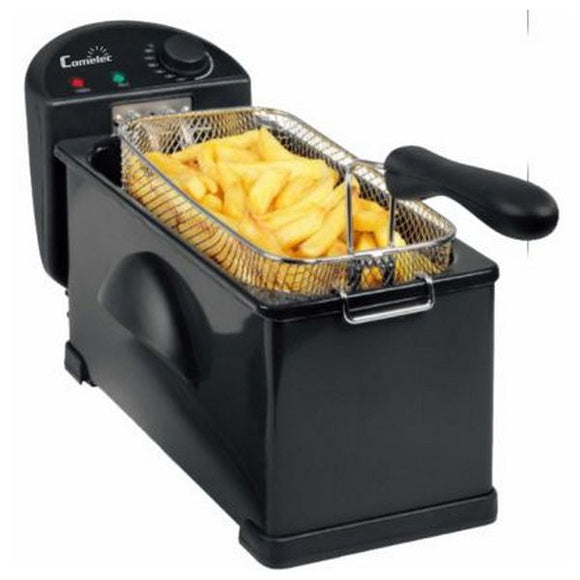 Deep-fat Fryer COMELEC FR3072 3 L 2000W Black