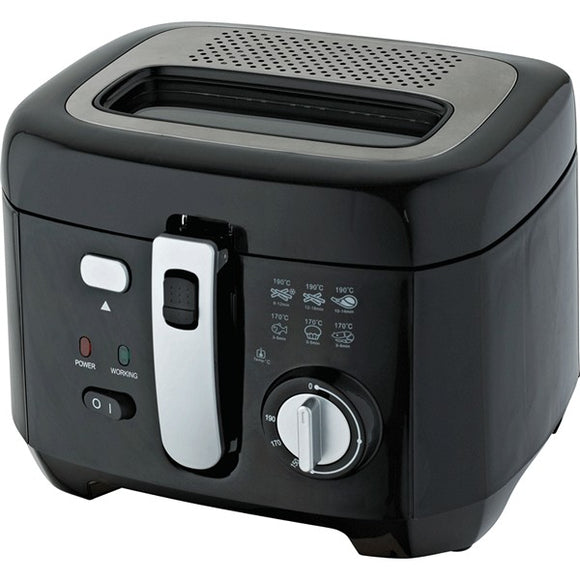 Deep-fat Fryer COMELEC 222386 1800W 2,5 L Black