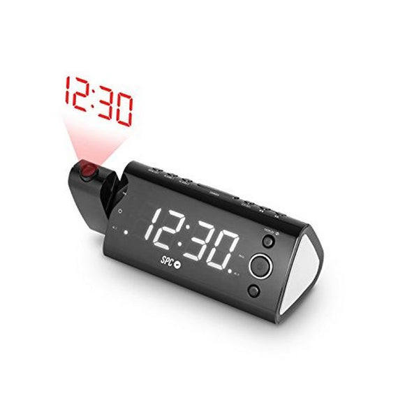 Radio Alarm Clock with LCD Projector SPC 4571B 1.2