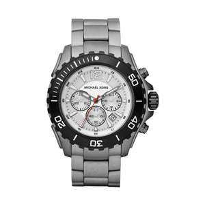Michael Kors- Silver Chronograph Watch 47mm
