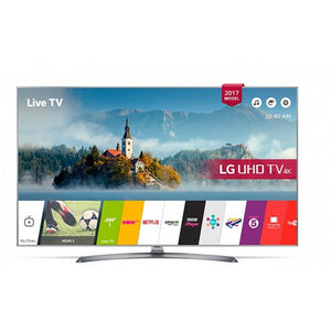"Smart TV LG 60UJ750V 60"" 4K Ultra HD DTS-HD Silver"