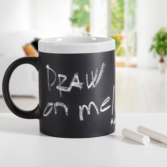 Gadget and Gifts Chalkboard Mug