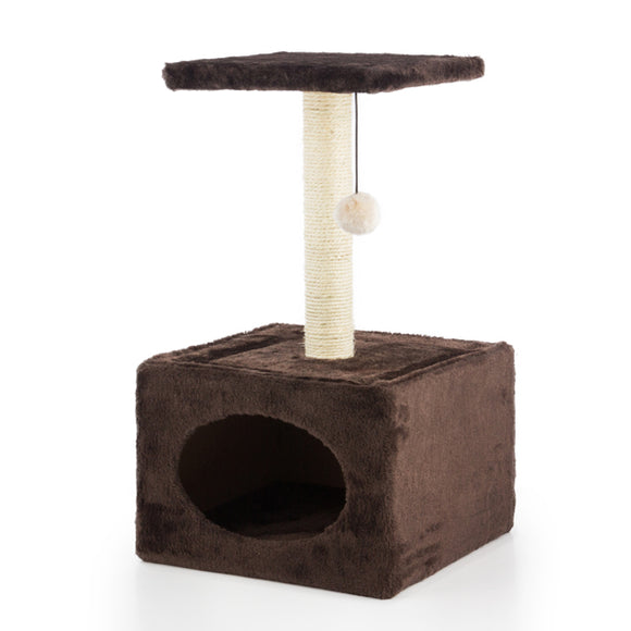 Cat Scratching Post with House - Pisis Empire