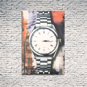 Clock With Cities Picture - Pisis Empire