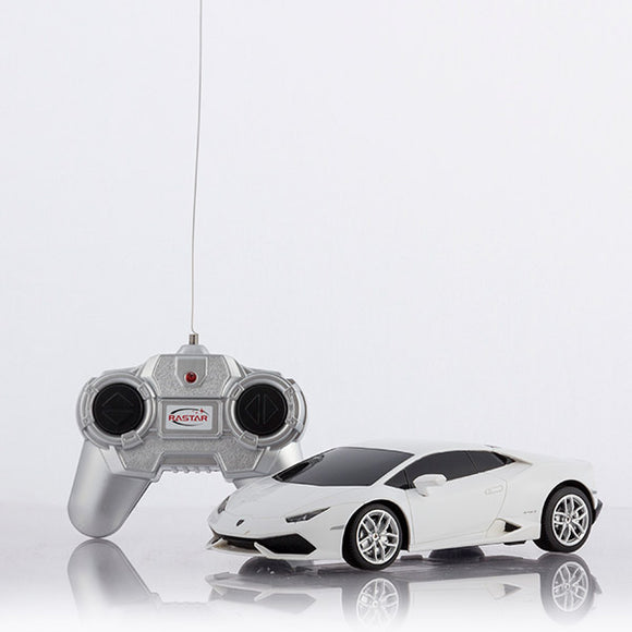 Yellow/White Lamborghini Remote Control Car