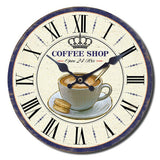 Coffee Shop Wall Clock