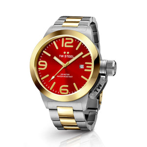Tw Steel- Water Resistant Men's Watch 50mm