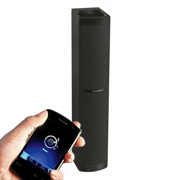 Black Bluetooth Sound Tower - Pisis Empire