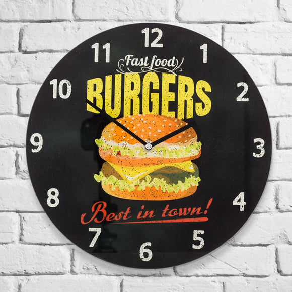 Burger Clock - Pisis Empire