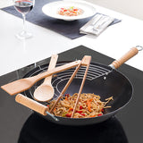 Wok Cooking Pan with Accessories (6 pcs)