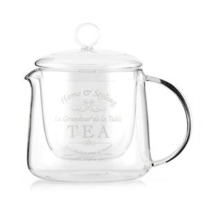 Bravissima Kitchen Double Wall Teapot