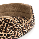 Large Striped Dog Bed