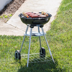 BBQ Classics Coal Barbecue with Cover and Wheels