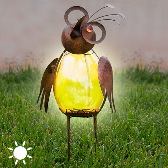 Unique Bird Solar Lamp
