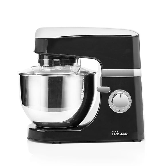 Tristar MX4809PR Blender-Dough Mixer with Bowl 4.5 L 700W Negro Cromado