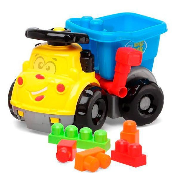Kids Tipper Lorry with Building Blocks