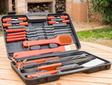 18 Piece Barbecue Tools Case - Pisis Empire