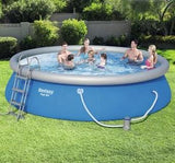 Blue Circular Swimming Pool 12362 L
