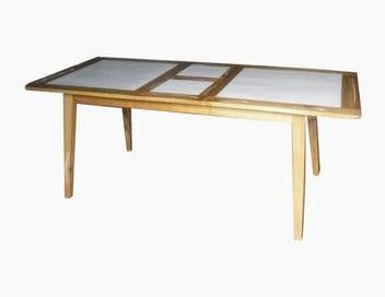 Mindi Wood Expandable Table