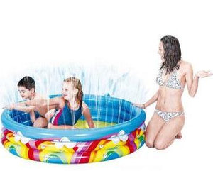 Rainbow Inflatable Paddling Pool