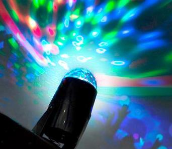 Multi-colour LED Projector