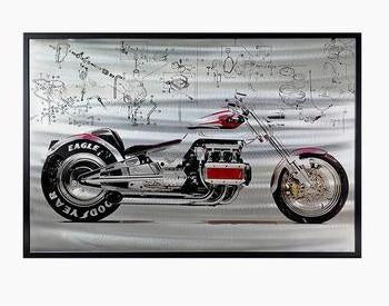 Wonderful Motorbike Painting