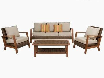 Garden Sofa Furniture (4 pcs)