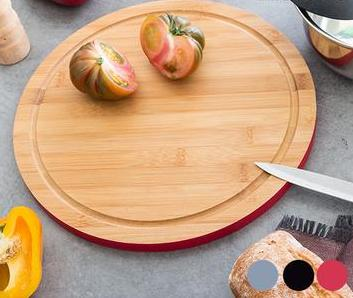 Circular Bamboo Chopping Board