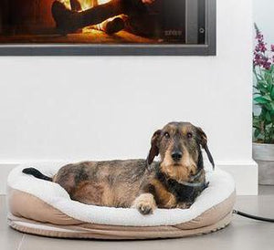 Extremely Comfortable Heated Pet Bed