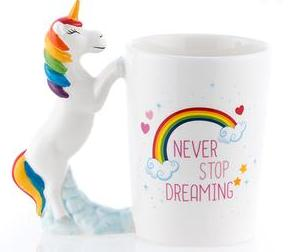 Mythical Slogan Unicorn Mug