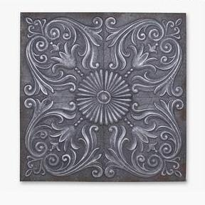 Original Aluminium Squared Wall Decoration