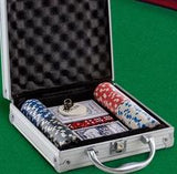 Party Poker Set with Case (100 chips)