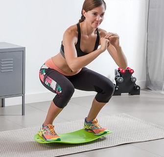 Exercise Balance Board with Workout Guide