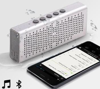 Lavish Metal Waterproof Bluetooth Speaker