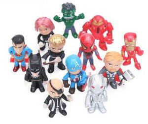 12 Pcs Marvel Toys - Pisis Empire