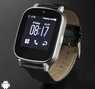 Stylish Leather Smartwatch