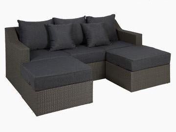3 Seater Chaise Longue Sofa