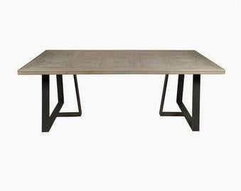 Modern Fir Wood Dining Table
