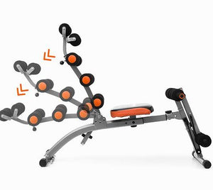 6x Exercise Bench with Exercise Guide - Pisis Empire