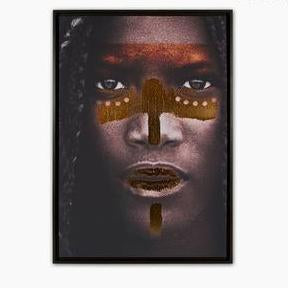 African Tribe Digitally Painted Picture - Pisis Empire