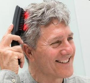 Portable Laser Massage Hair Brush