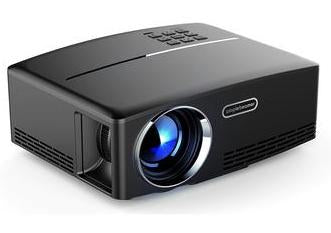 Black LED Wireless  LCD HDMI Projector - Pisis Empire