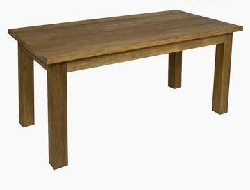 Brown Mdf Dining Table Teak