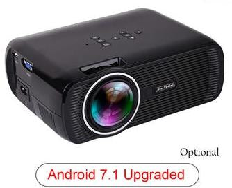 Black Portable Mini Projector - Pisis Empire