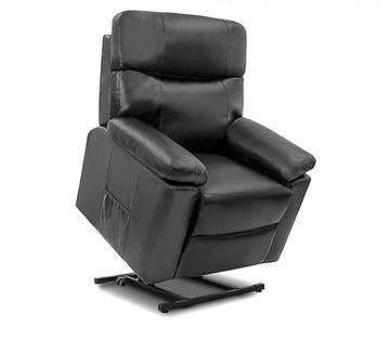 Black Lifter Massage Armchair
