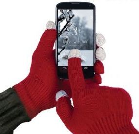 Touchscreen Gloves- Compatible with Any Smartphone or Tablet
