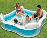 Intex Inflatable Family Pool with Seats