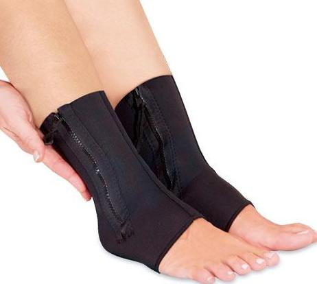 Ankle Support Brace with Zip - Pisis Empire